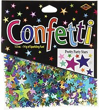 Beistle CN132Pretty Party Sterne Konfetti,