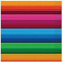 Beistle Fiesta Servietten, farbenreiche Mehrfarbig