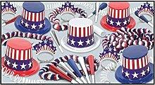 Beistle Spirit of America Gastgeschenk für 50