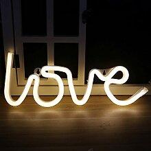 BEITAI Nachtlicht Love Shaped LED Lampe für Baby