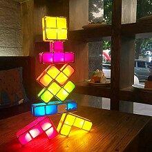 BEITAI Romantische DIY Tetris Puzzle LED