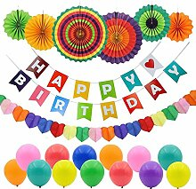 Beito Happy Birthday Party-Dekoration, Banner mit