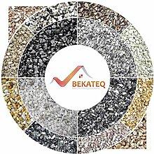 BEKATEQ BK-600EP Steinteppich Set - Nero Ebano -