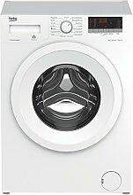 Beko PWY 731631 PTLE Waschmaschine  / A+++ / 171 kWh/Jahr / 1600 UpM / 7 kg / Multifunktionsdisplay / weiß / XL-Tür mit 34 cm Einfüllöffnung  / 15 Programme / ProSmart Inverter Motor / Pet Hair Removal / Mengenautomatik /  Watersafe / BabyProtec