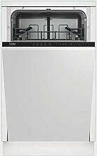 BEKO vollständig integriertes dis1501210places A + Spülmaschine–Geschirrspülmaschinen (komplett integriert, White, Not Applicable, Edelstahl, 10Plätze, 49dB, A)