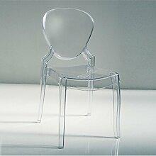 BeKreative Stuhl Polycarbonat transparent