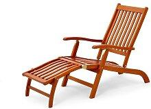 Belardo Deckchair / Gartenliege 255620 Brintesia Eukalyptusholz