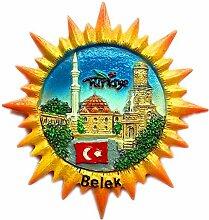 Belek Türkei 3D Kühlschrank Kühlschrankmagnet
