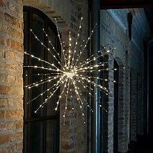 Beleuchtete Fensterdekoration 72-flammig Polestar