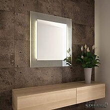 Beleuchteter Badspiegel - Wandspiegel mit Beleuchtung Allegro Spiegel 81 x 71 cm