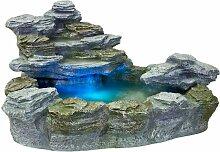 ® Beleuchteter Gartenbrunnen 'OLYMP'