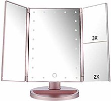 Beleuchteter Make-up-Spiegel mit 21 LEDs,