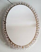 Beleuchteter ovaler Spiegel von Emil Stejnar für