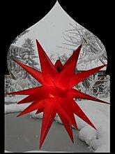 beleuchteter Weihnachtsstern Adventsstern