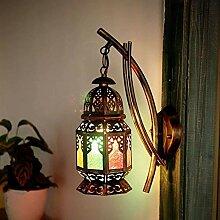 Beleuchtung Außenwandleuchten Kerzen-Wandleuchten
