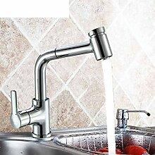 Beleuchtung Küche Wasserhahn Pull/Spüle Wasserhahn/Gemüse Becken Wasserhahn/Armatur Kalten und warmen