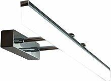 Beleuchtung LED-Spiegel-Frontleuchten, Badleuchten Modern Silver - Einziehbare LED-Wandleuchte ( ausgabe : 3 color dimming-80cm )