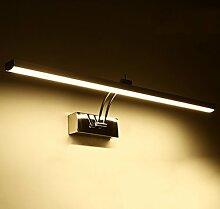 Beleuchtung LED-Spiegel vorne Lichter, Bad Spiegel Licht moderne wasserdichte Anti-Nebel Spiegel Wandleuchte ( Farbe : Warmes Licht-58cm )