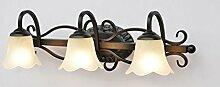 Beleuchtung Spiegel-vorderes helles Badezimmer-Spiegel-Wand-Lampen-modernes Badezimmer führte Spiegel-Kabinett-Lichter ( ausgabe : Warmes Licht-60*17cm )
