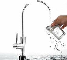 Beleuchtung Wasserhahn/Wasserhahn Wasser Luftreiniger/Drink gerade Armatur/Pure Wasser Wasserhahn/DEDICATED Single Kalten faucet-a