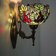 Beleuchtungskörper Art Tiffany Style Wandleuchte,
