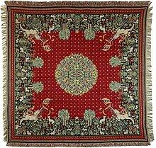 Belgian Tapestries edle gewebte Tischdecke Gobelin