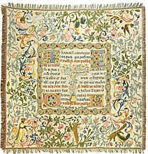 Belgian Tapestries edle gewebte Tischdecke,