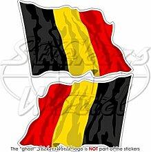 BELGIEN Belgisch Wehende Fahne 120mm Auto &