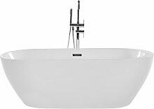 Beliani - Moderne, freistehende Badewanne Acryl