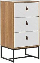 Beliani - Moderne Kommode Heller Holzfarbton /