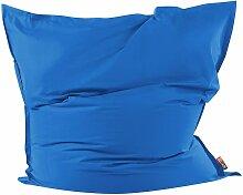 Beliani - Sitzsack Blau 180 x 230 cm Indoor