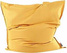 Beliani - Sitzsack Gelb 180 x 230 cm Indoor