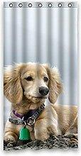"Beliebtes Funny Lovely Hund Polyester Wasserdicht Badezimmer Duschvorhang 91,4x 182,9cm (90x 183cm), Polyester, B, 36"""" x 72"