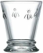 Beliebtes Wasserglas mit napoleonischer Biene