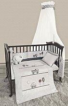 Belily World Baby Bettset, 5 Teilig, Bettwäsche