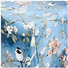 Belito Blau Wachstischdecke Blossom Blau
