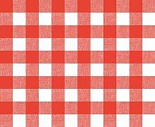 Belito Large Rot Kariert Wachstischdecke Rot