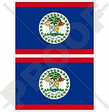 BELIZE Belize Flagge, Commonwealth 75mm Auto &