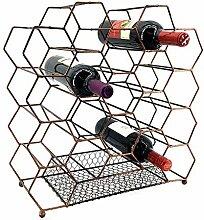 Bellaa 23424 Weinregal für 20 Flaschen Weinhalter