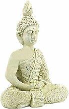 Bellaa 23608 Buddha-Statue, meditierend, für den