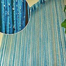 Bellabrunnen Fadenvorhang Fadengardine Raumteiler Auswahl:weiß ,rot,blau,gelb,pink 100cmX200cm