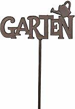 Bellaflor Gartenstecker mit Schriftzug