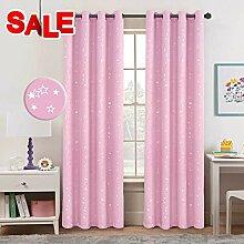 BellaHills Kinderzimmer Vorhang Blickdicht -