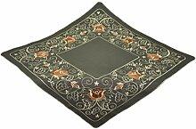 Bellanda 3051-85x85 cm eckig Tischdecke Polyester, 85 x 85 cm, braun
