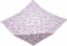 Bellanda 3077-85x85 eckig Tischdecke, Polyester, Violett, 85 x 85 x 0.5 cm