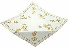 Bellanda 3423-eckig Tischdecke, Polyester, Sekt, 85 cm