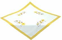 Bellanda 3585-85x85 eckig Tischdecke, Polyester, Sekt, 85 x 85 x 0.5 cm