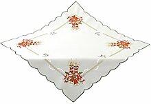 Bellanda 3639-85x85 eckig Tischdecke, Polyester, Sekt, 85 x 85 x 0,50 cm