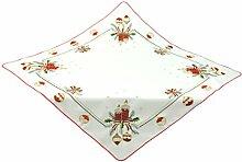 Bellanda 3931-85x85 Eckig Tischdecke, Polyester, Beige, 85 x 85 x 0.5 cm