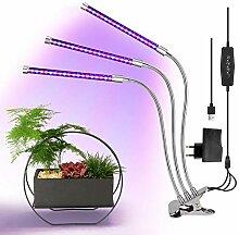 Belle Pflanzenlampe für Zimmerpflanzen 3 * 9W mit